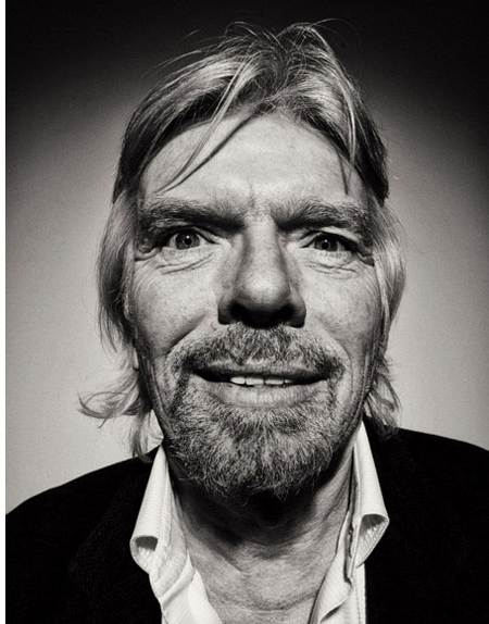RICHARD BRANSON FOR GQ