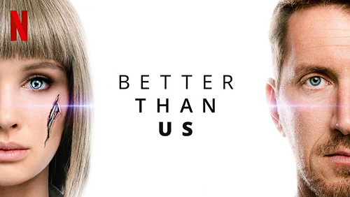 BETTER THAN US TV SERIES POSTER