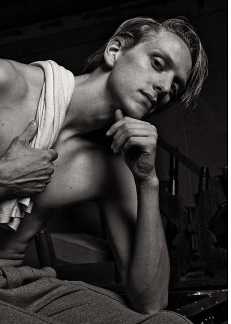 DAVID HALLBERG FOR VOGUE